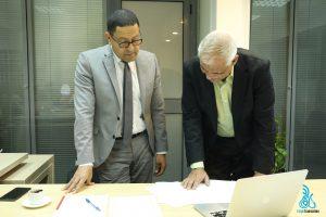 Dr. Mohamed Ali Ibrahim & Elaph Translation Manager